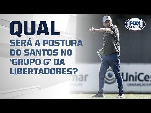 QUAL SERÁ A POSTURA DO SANTOS NO 'GRUPO G' DA LIBERTADORES?