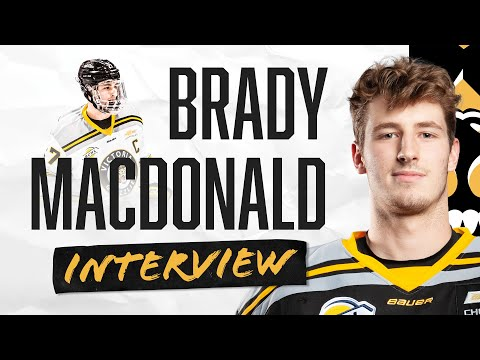 20 Minutes With Brady MacDonald | Returning to play | Playing without fans | Being the captain