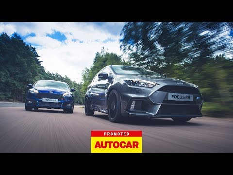 Promoted: Ford Focus ST vs. Ford Focus RS
