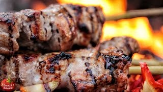 ULTIMATE GRILLED PORK SKEWERS (ШАШЛЫК)! – feat. Mr. Ramsay the Owl