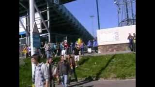 Sfeer Eupen - Waasland-Beveren 3de match eindronde 2012.