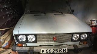 Капсула времени: ВАЗ-2106 1991-го года с пробегом 1507 км Часть 1 Lada barn find Part 1