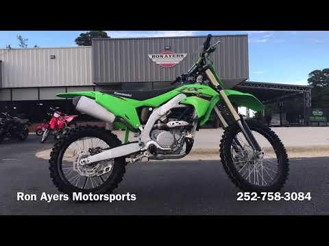 2022 Kawasaki KX 250 in Greenville, North Carolina - Video 1