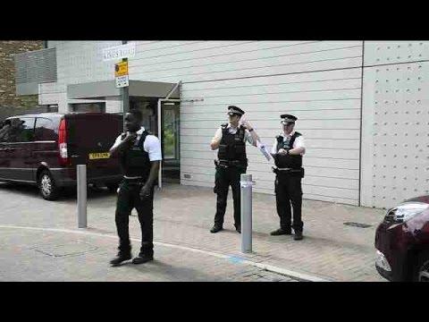 La policía de Londres detuvo a 12 personas tras ataques terrorista