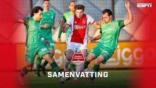 ?Zinderende slotfase in promotiewedstrijd De Graafschap tegen Jong Ajax | Samenvatting | KKD