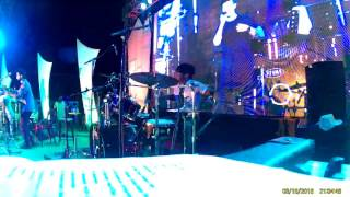 APOORV SINGH DRUMMER AND MEIYANG CHANG AND THE BAND /EMOTIONAL ATYACHAR/BHAG DK ROCK