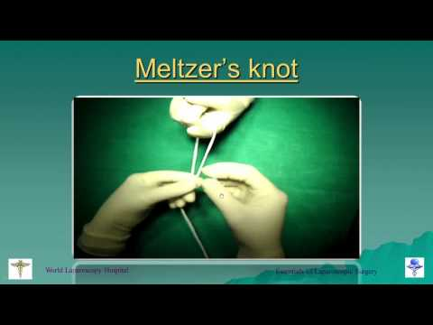 Master Class of Laparoscopic Suturing and Knotting
