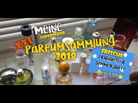 Meine XXL Parfum Sammlung 2018 | 🌺 frische Düfte für den Sommer | Drogerie & High end | Scally
