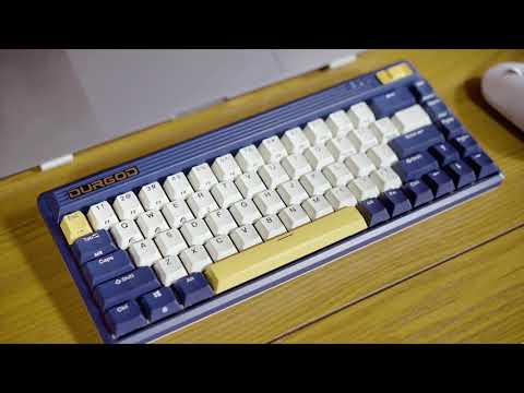 DURGOD : Retro keyboard with nostalgic memories-GadgetAny