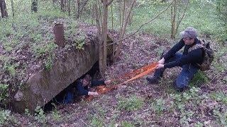 Обнаружили БУНКЕР в лесу и нашли СКЛАД возле него.
