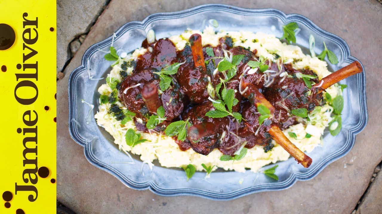 Slow cooked lamb shanks jamie oliver forumfinder Image collections