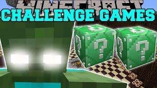 Minecraft: ZOMBIE TITAN CHALLENGE GAMES - Lucky Block Mod - Modded Mini-Game