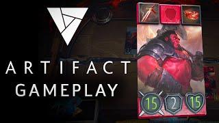 Artifact - 7 Minutes of Exclusive Gameplay | Valve