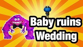 Little Baby Ruins Monsters Wedding (PLAYTIME)