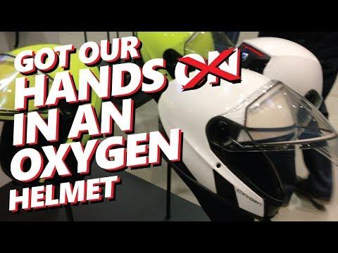 BRP Ski-Doo Oxygen Helmet | First Look Review | 2019 Launch