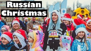 CHRISTMAS in RUSSIA - this is how we celebrated Christmas in a Provincial Russian Town