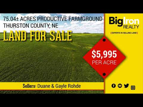 75.04+/- Acres Thurston County, Nebraska