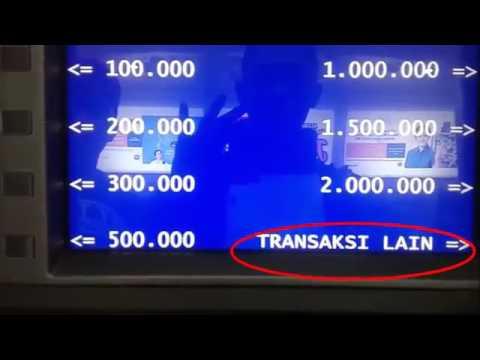 cara transfer uang melalui ATM BRI (How To Transfer Money)
