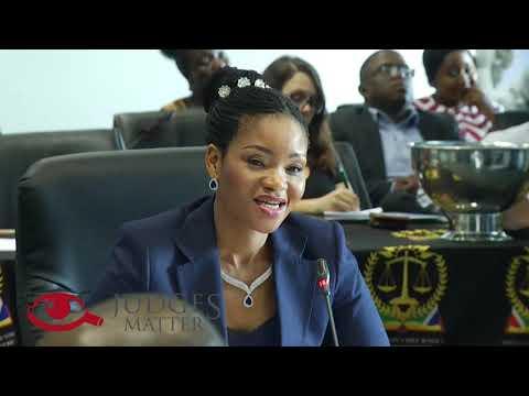 SA Gauteng HC - JSC Interview of Adv M M P Mdalana-Mayisela – Judges Matter (October 2019)