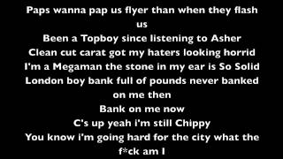 Chip Londoner ft Wretch 32, Professor Green & Loick Essien Lyric Video