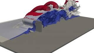libParanumal: Galerkin-Boltzmann 3D flow simulation