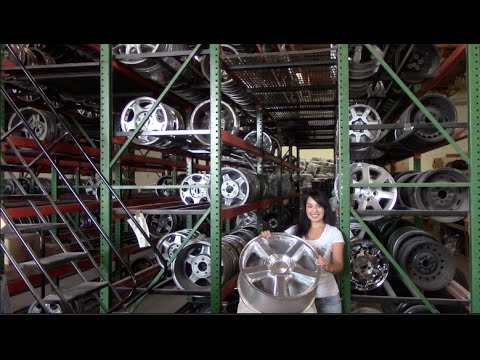 Factory Original Chevrolet Traverse Rims & OEM Chevy Traverse Wheels – OriginalWheel.com