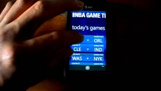 NBA Game Time Lite for Windows Phone 7 App Review