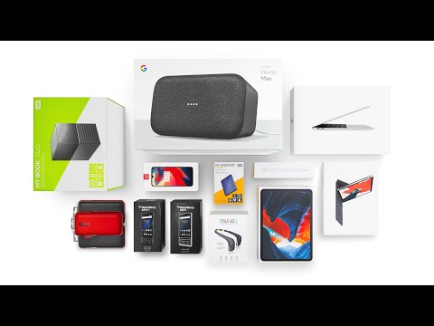 NEW iPad Pro, MacBook Air, OnePlus 6T - Tech Unboxing Haul!