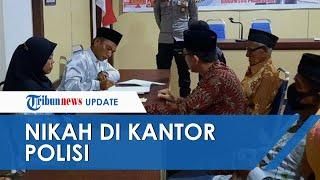 Ketahuan Bawa Sabu Seminggu sebelum Nikah, Pasangan di Riau Kini Langsungkan Akad di Kantor Polisi