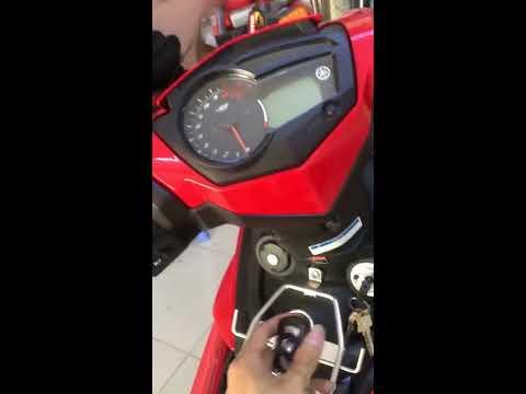 Xe Exciter 150 lắp khóa chống trộm nhận diện chủ xe