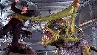 美女吃下一颗药丸,变成外星怪物,一口就吞下了壮汉!速看科幻电影《外星人报到》