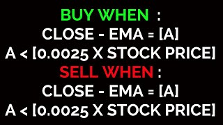 Intraday formula base strategy   Work on all stocks   intraday trading strategy   18 JAN 2020
