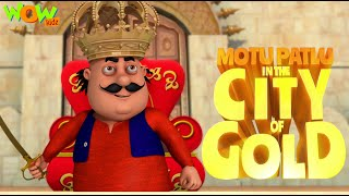 MOTU PATLU In Gold City | Full Movie | Wow Kidz
