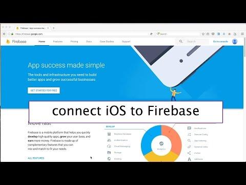 38- iOS || Connect to Firebase|| تحليل بيانات مستخدمين