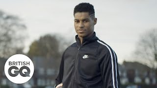The places in Manchester that shaped Marcus Rashford | British GQ