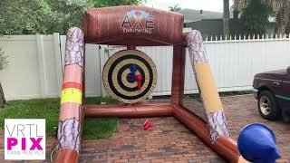 Axe Throwing Inflatable for Rent