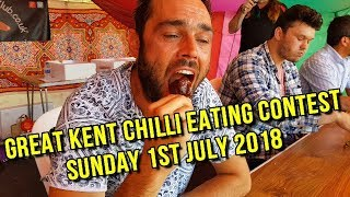 Chilli Eating Contest Sunday 1st July 2018 Great Kent Chilli Festival