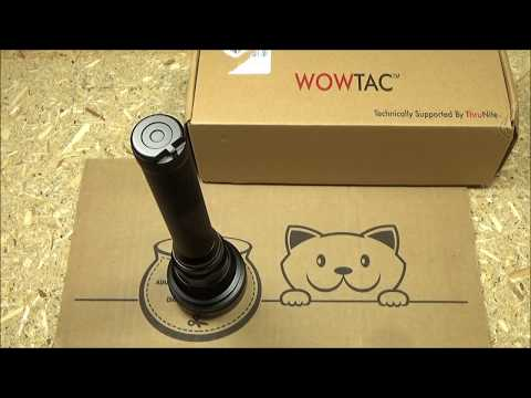 Wowtac A4 Flashlight Review, ($40) 2000LM Thrower