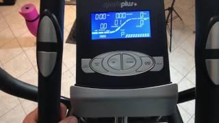 SportPlus SP-ET-9800-iE Crosstrainer mit Smartphone-Steuerung über Cardiofit App
