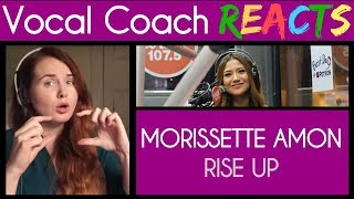 Vocal Coach Reacts to Morissette Amon Rise Up on Wish 107.5