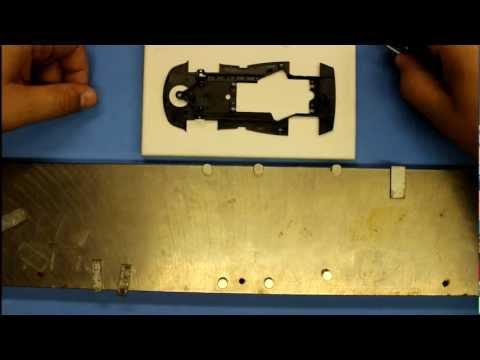 ASCC – Slot.it slot car setup : Part #1 – Straightening a chassis