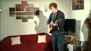 Ed Sheeran - You Need Me, I Don't Need You Live On UStream