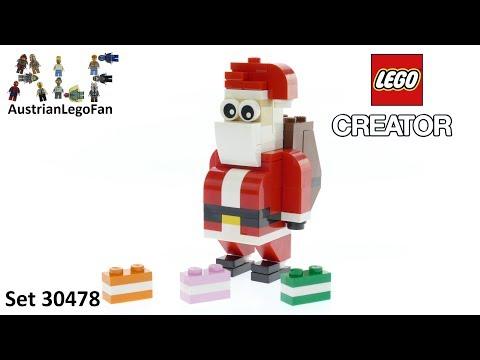 Vidéo LEGO Creator 30478 : Santa Claus (Polybag)