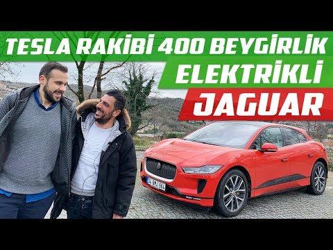 Tesla Rakibi 400 Beygirlik Elektrikli Jaguar