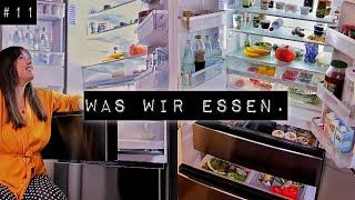 Gesund Abnehmen I Neuer XXL Kühlschrank & Wocheneinkauf Tour I Well Journey Woche 11