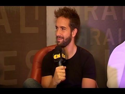 Pablo Alborán video Entrevista CM - Diciembre 2014