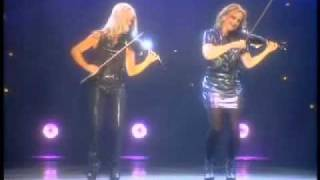 Mairead Nesbitt & Cora Smith - Lord Of The Dance - Celtic Violin