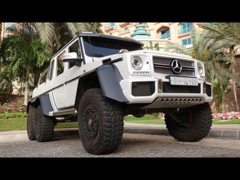 Mercedes G63 AMG 6X6 in Dubai!!