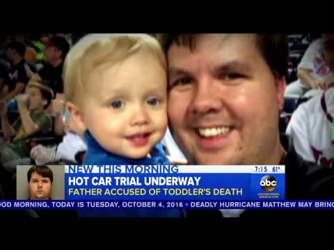 Good Morning America recaps the prosecution's statements in the hot car death trial
