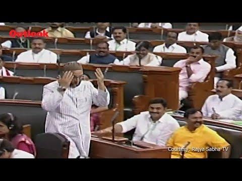 As Owaisi Takes Oath In Lok Sabha, Members Chant 'Jai Shri Ram', He Responds With 'Jai Bhim', 'Allah